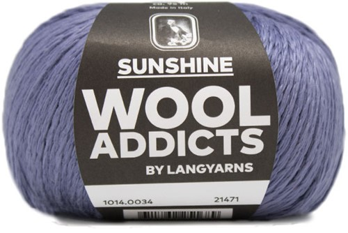 Wooladdicts Like Sunbeams Omslagdoek Breipakket 5 Jeans