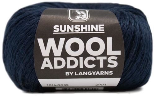 Wooladdicts Happy Soul Vest Breipakket 6 L/XL Marine