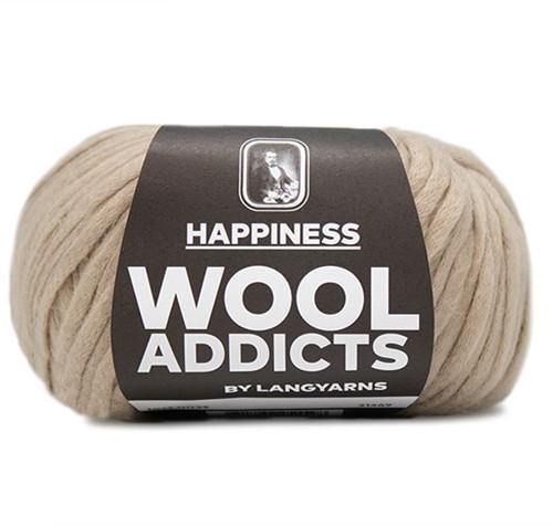 Wooladdicts Sweet Desires Vest Breipakket 7 S/M Camel