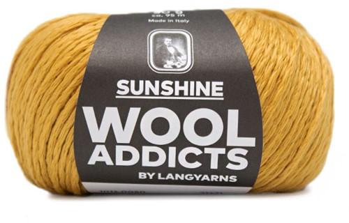 Wooladdicts Like Sunbeams Omslagdoek Breipakket 8 Gold