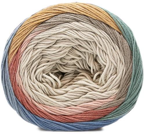 Fair Cotton Craft Kinderjurk Breipakket 1 Beige / Brown / Yellow / Stone Grey