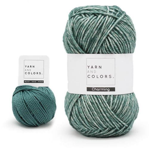 Yarn and Colors Toned Triangle Haakpakket 4