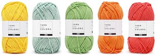 Wolplein Regenboog Vloerkleed Haakpakket 1 Pastel