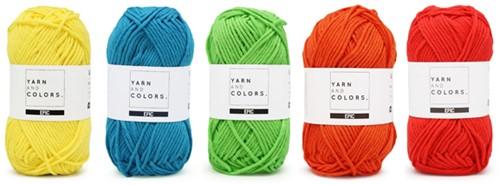 Wolplein Regenboog Kussen Haakpakket 6 Colorful