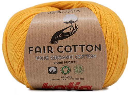 Fair Cotton Bolero Haakpakket 1 42/44 Yellow