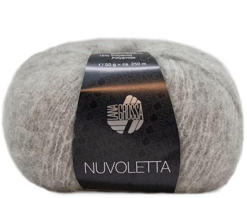 Nuvoletta Poncho Breipakket 1 Light grey 44/50
