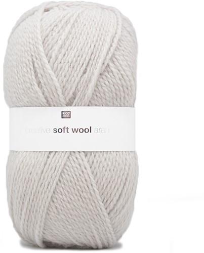 Creative Soft Wool Aran Sjaal Haakpakket 1