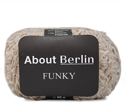 About Berlin Funky Vest Breipakket 1 40/42 Beige