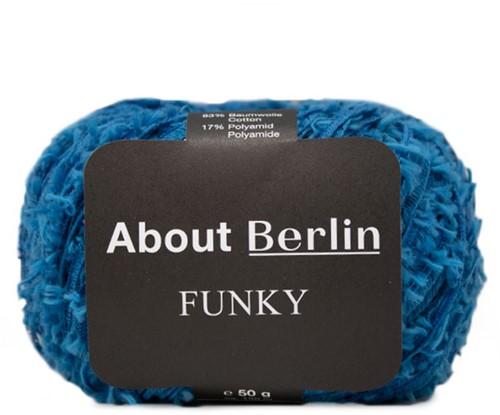 About Berlin Funky Hesje Breipakket 1 40/42 Gentian Blue
