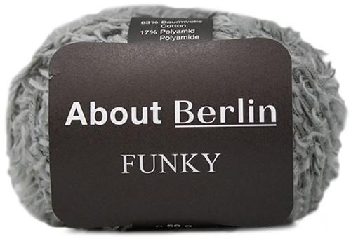 About Berlin Funky Trui Breipakket 1 44 Grey