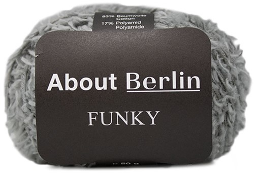 About Berlin Funky Trui Breipakket 1 36/38 Grey