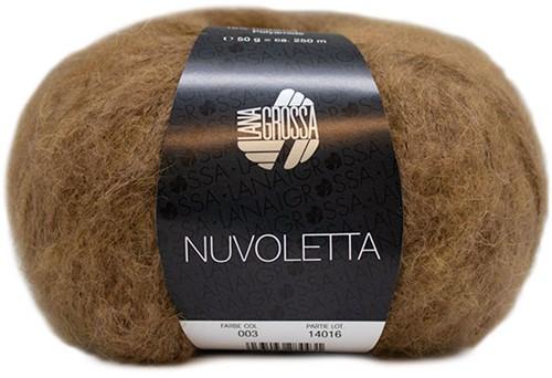 Nuvoletta Poncho Breipakket 2 Camel 36/42