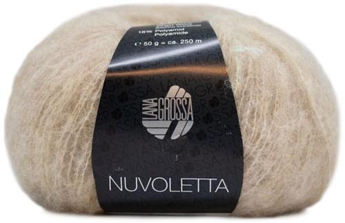 Nuvoletta Mantel met ceintuur Breipakket 2 Beige 42/46