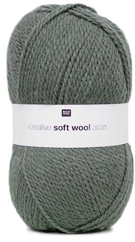 Creative Soft Wool Aran Sjaal Breipakket 2