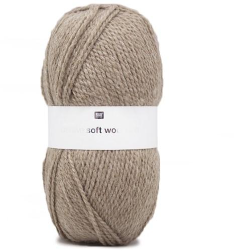 Creative Soft Wool Aran Damestrui Breipakket 2 40/42