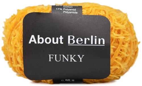 About Berlin Funky Trui Breipakket 2 40/42 Yellow
