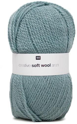 Creative Soft Wool Aran Sjaal Haakpakket 3