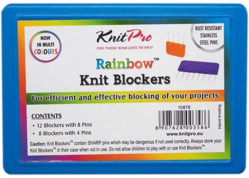 KnitPro Knit Blockers Regenboog