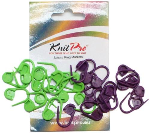 KnitPro Vergrendelbare Markeerringen