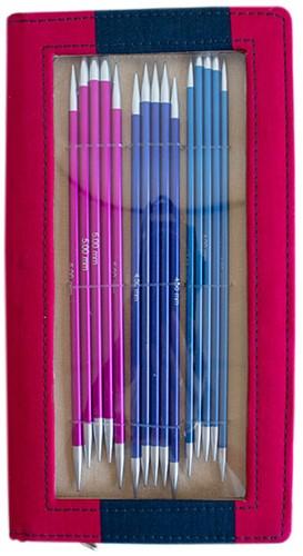 KnitPro Zing Sokkennaalden Set 20cm