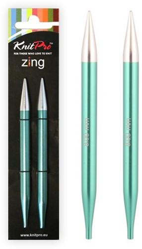 KnitPro Zing Verwisselbare Rondbreinaalden 3,75mm