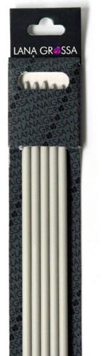 Lana Grossa 40cm kunststof kousenbreinaalden 6,5mm