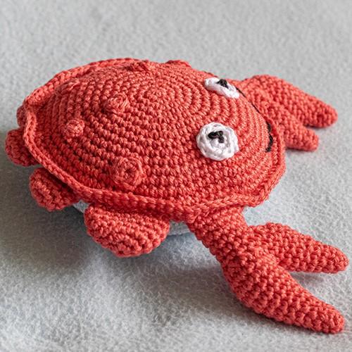 Haakpatroon Knuffel Crabbie