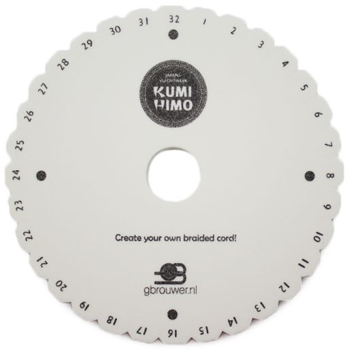 Kumihimo Disc Rond 15cm