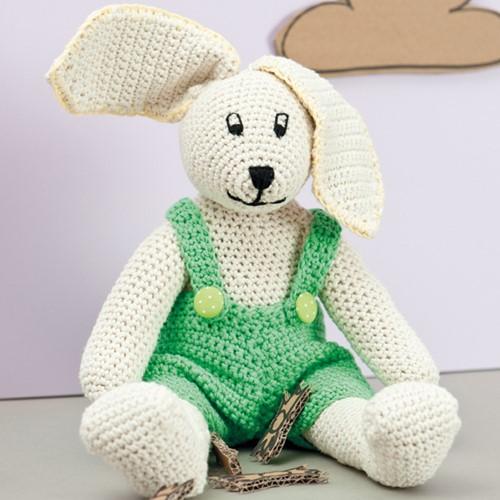 Lenny het konijn haakpakket