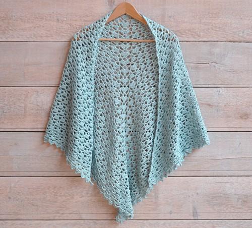 Haakpatroon Essentials Cotton sjaal