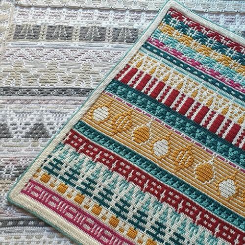 Letitia's Holiday Blanket MAL Garenpakket 1 Country S