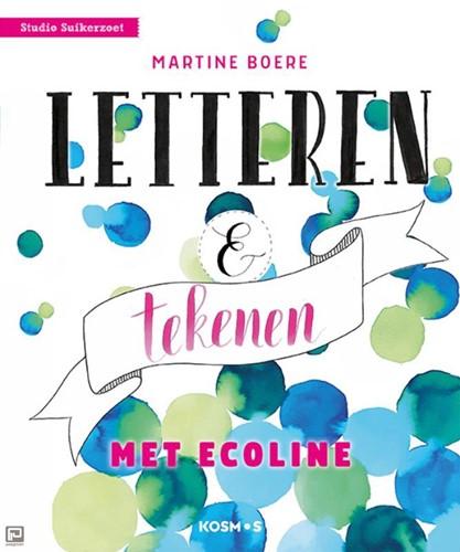 Letteren en Tekenen met Ecoline