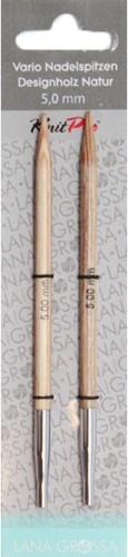 Lana Grossa Vario Natur-Holz Naaldpunten 6,5mm