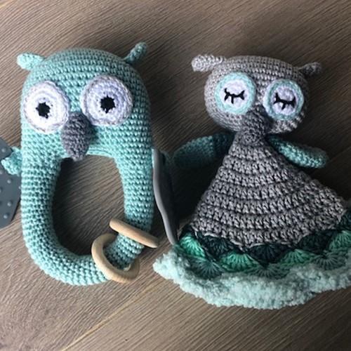 Haakpatroon Babyspeeltje It's Owl Good