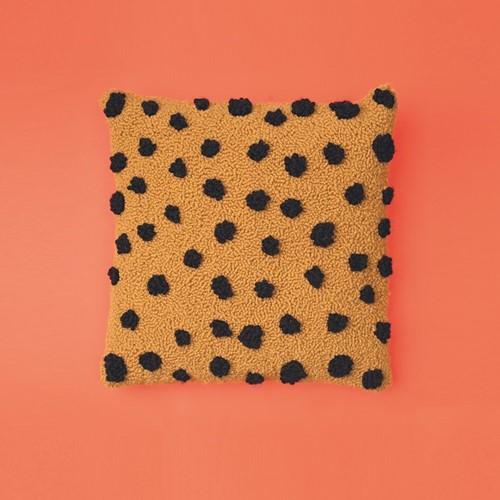 Cheetah Kussen Punchpakket 1 Saffron/Black