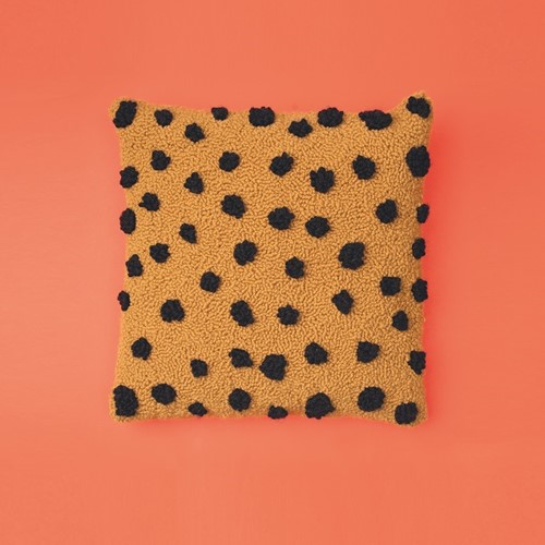 Cheetah Kussen Punchpakket 2 Créme/Mustard