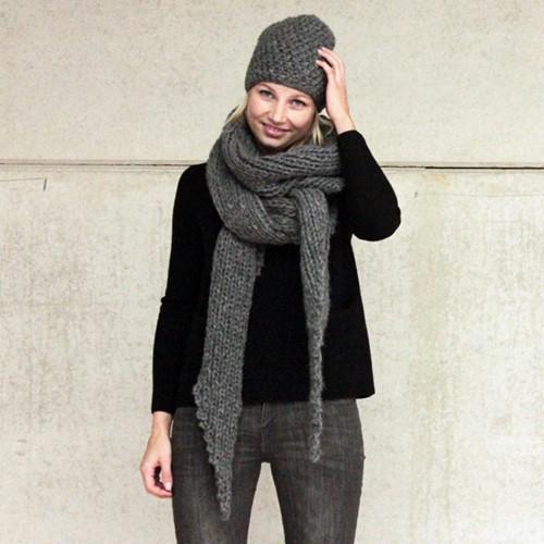 Breipatroon Malou sjaal