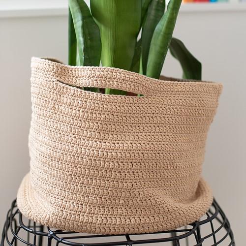 Cotton Tube Mand Haakpakket 1 Beige