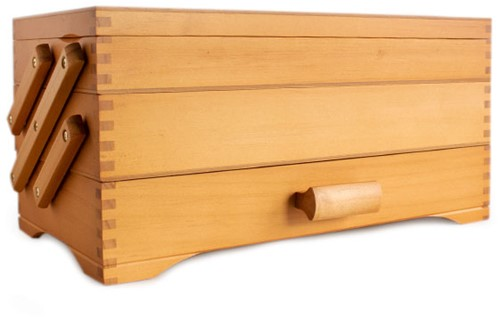 Naaimand Wood Cantilever 3-Tier