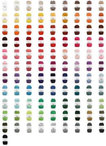 Yarn and Colors Must-have Kleurenpakket 100 Kleuren