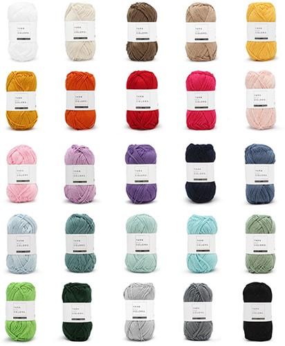 Yarn and Colors Must-have Kleurenpakket 25 Kleuren