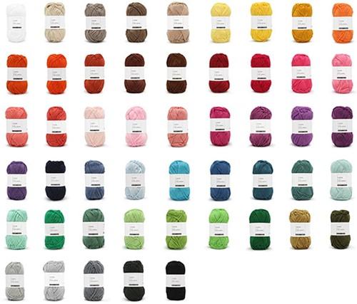 Yarn and Colors Must-have Kleurenpakket 50 Kleuren