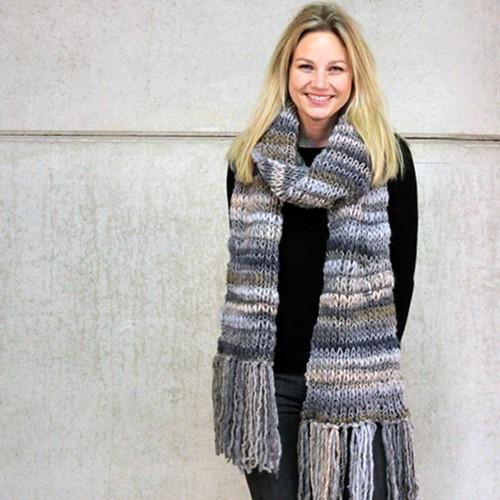 Breipatroon Olympia sjaal