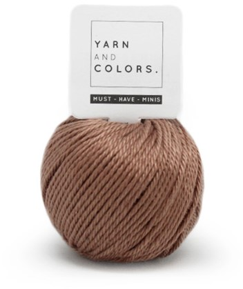 Yarn and Colors Less is more WOW! Muurhanger Pakket 008 Teak
