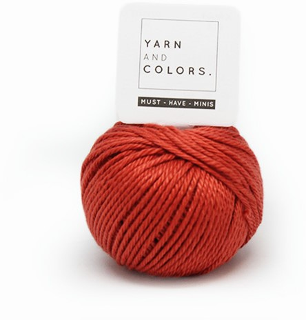Yarn and Colors Less is more WOW! Muurhanger Pakket 023 Brick