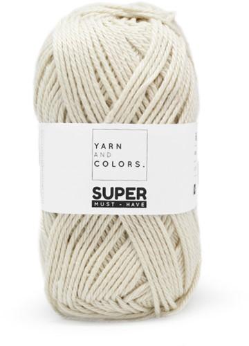 Yarn and Colors Twist WOW! Muurhanger Pakket 002 Cream