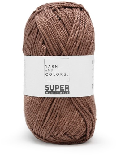 Yarn and Colors Twist WOW! Muurhanger Pakket 008 Teak