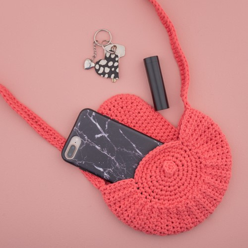 Yarn and Colors Petit Purse Haakpakket 041 Coral