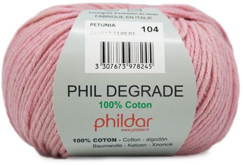 Phildar Phil Degrade 1149 Petunia