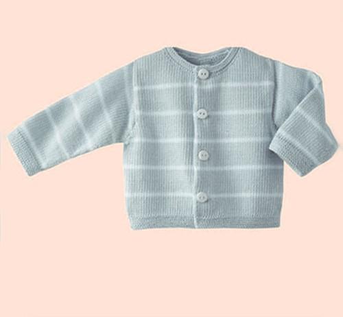 Breipatroon Phil Coton 3 baby vest